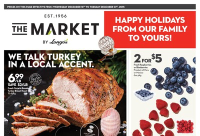 The Market by Longo's Flyer December 18 to 31
