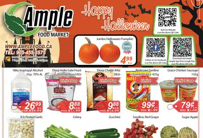 Ample Food Market Flyer October 23 to 29