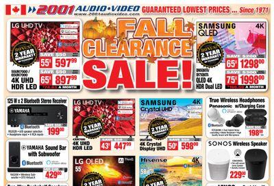 2001 Audio Video Flyer October 23 to 29