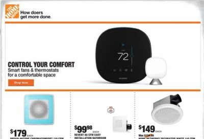 The Home Depot Weekly Ad Flyer October 22 to October 29