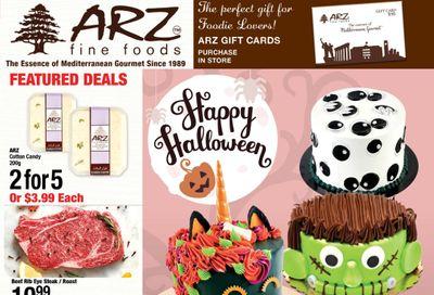 Arz Fine Foods Flyer October 23 to 29