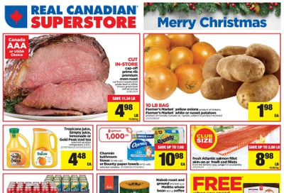 Real Canadian Superstore (ON) Flyer December 19 to 24