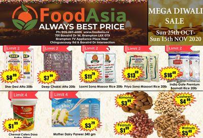 FoodAsia Flyer October 25 to November 15