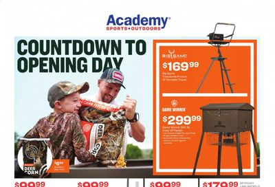 Academy Sports Weekly Ad Flyer October 26 to November 1