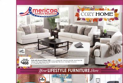 American Furniture Warehouse (AZ) Weekly Ad Flyer October 25 to October 31