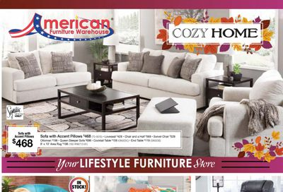 American Furniture Warehouse (TX) Weekly Ad Flyer October 25 to October 31