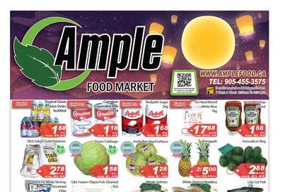 Ample Food Market Flyer September 13 to 19