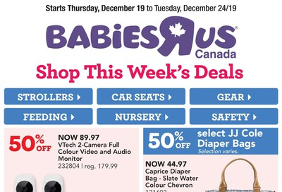 Babies R Us Flyer December 19 to 24