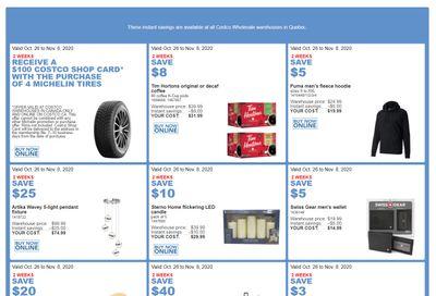 Costco (QC) Weekly Savings October 26 to November 8