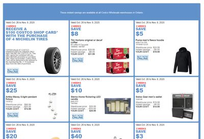 Costco (ON & Atlantic Canada) Weekly Savings October 26 to November 8