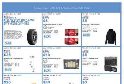Costco (BC, AB, SK & MB) Weekly Savings October 26 to November 8
