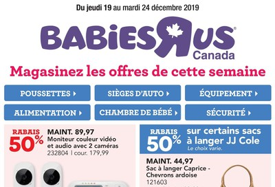Babies R Us (QC) Flyer December 19 to 24