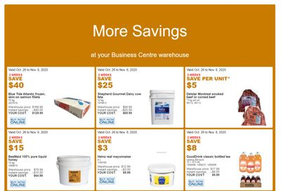 Costco Business Centre (Scarborough, ON) Instant Savings Flyer October 26 to November 8