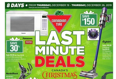 Canadian Tire (ON) Flyer December 19 to 26