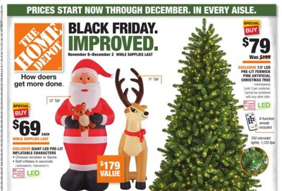 The Home Depot Weekly Ad Flyer November 8 to December 2