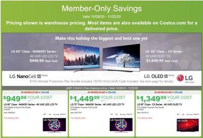 Costco Weekly Ad Flyer October 28 to November 22