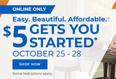 Aaron's Weekly Ad Flyer October 25 to October 28