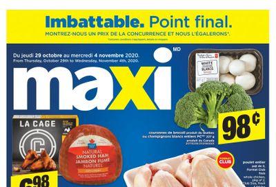 Maxi Flyer October 29 to November 4
