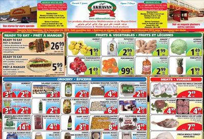 Akhavan Supermarche Flyer December 18 to 24