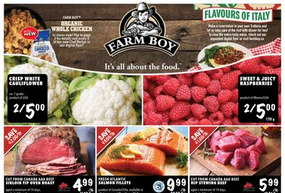 Farm Boy Flyer October 29 to November 4