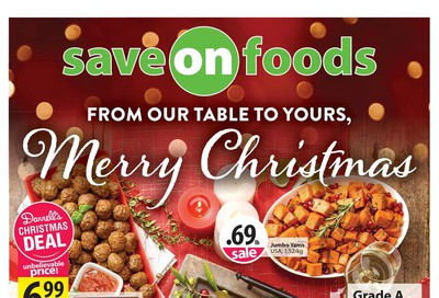 Save on Foods (AB) Flyer December 19 to 26