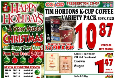 Fredericton Co-op Flyer December 19 to 31