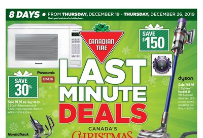 Canadian Tire (West) Flyer December 19 to 26