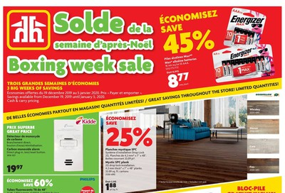 Home Hardware (QC) Boxing Week Flyer December 19 to January 5