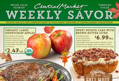 Central Market (TX) Weekly Ad Flyer October 28 to November 3