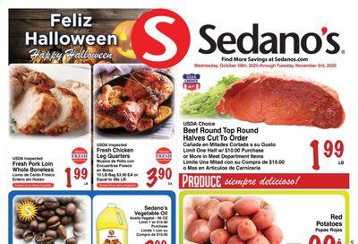 Sedano's (FL) Weekly Ad Flyer October 28 to November 3