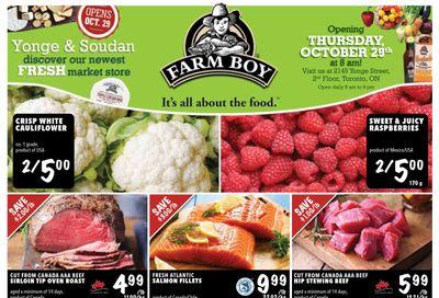 Farm Boy (Toronto) Flyer October 29 to November 4