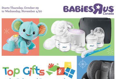 Babies R Us Flyer October 29 to November 4