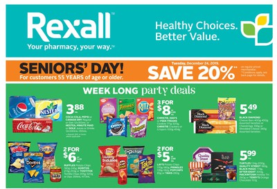 Rexall (West) Flyer December 20 to 26