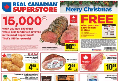 Real Canadian Superstore (West) Flyer December 20 to 24