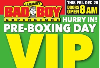 Lastman's Bad Boy Superstore Flyer December 19 to 24