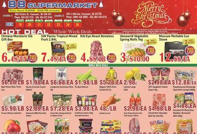 88 Supermarket Flyer December 19 to 25