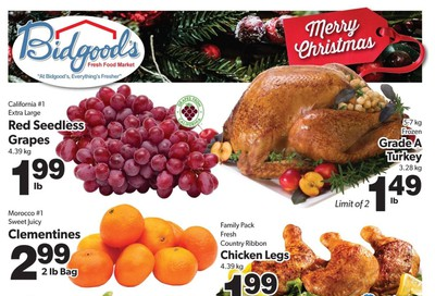 Bidgood's Flyer December 19 to 25