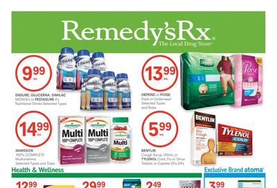 Remedy's RX Flyer October 30 to November 26