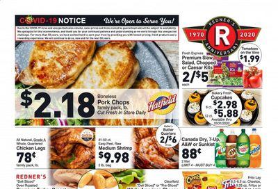 Redner's Markets Weekly Ad Flyer October 29 to November 4