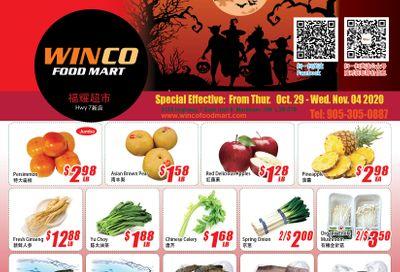 WinCo Food Mart (HWY 7) Flyer October 29 to November 4
