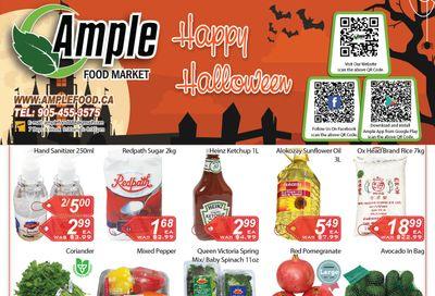 Ample Food Market Flyer October 30 to November 5
