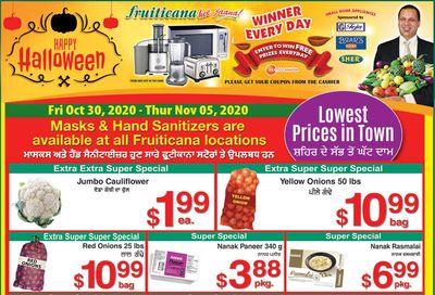 Fruiticana (Edmonton) Flyer October 30 to November 5