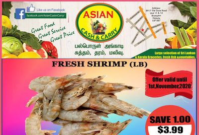 Asian Cash & Carry Flyer October 30 to November 5