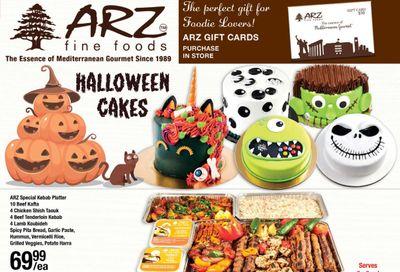 Arz Fine Foods Flyer October 30 to November 5