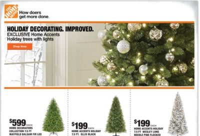 The Home Depot Weekly Ad Flyer October 29 to November 5