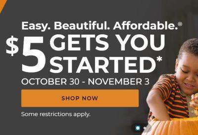 Aaron's Weekly Ad Flyer October 30 to November 3