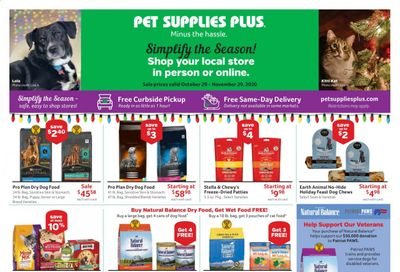 Pet Supplies Plus Weekly Ad Flyer October 29 to November 29