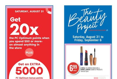 Shoppers Drug Mart (ON) Flyer August 31 to September 6