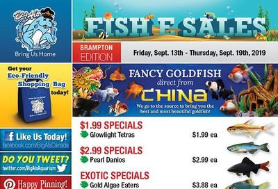 Big Al's (Brampton) Weekly Specials September 13 to 19