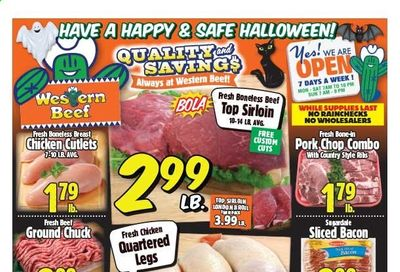 Western Beef Weekly Ad Flyer October 29 to November 4